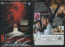 NIGHT TERRORS - DVD (NUOVO SIGILLATO) TOBE HOOPER