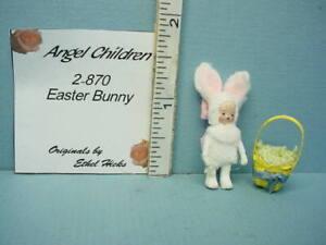 "Miniature Ethel Hicks Doll's Doll ""Easter Bunny"" #2-870"