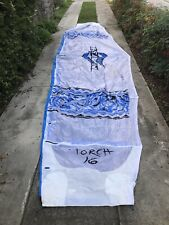 Naish kitesurfing kite - Torch 16 Blue and White - Great Condition
