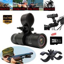 32GB Ultra HD 1080P Mini DV For Shotgun Rifle Hunting Sport Helmet Camera W/Clip