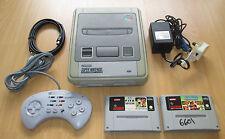 Consola Super Nintendo Snes Set - 1 Pad + Delantero + FIFA Internacional de Fútbol