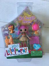"""Lalaloopsy Mini Kat Jungle Roar 3"""" Mini Doll NEW #8 Of Series 11"""