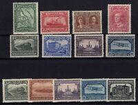 G129778/ NEWFOUNDLAND / CANADA / LOT 1929 - 1930 MINT MH – CV 300 $