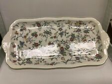 Ceramic Rectangle Floral Tray, 15�x7�