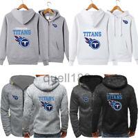 Tennessee Titans Hoodie Football Hooded Sweatshirt Fleece Jacket Gift for Fans