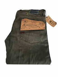 GILDED AGE Men's Jeans Made IN Italy Mod. GA1011-M A18W Dark Grey 100% Cotton