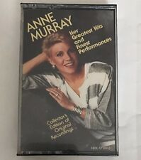 Anne Murray ~ Her Greatest Hits & Finest Performances, Vol. 1 ~ Cassette ~