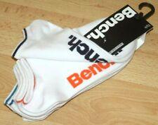 Bench Mens Wave 5 Pack Trainer Liner Socks 80% cotton UK 6-11 EU 39-46