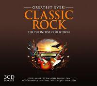 CLASSIC ROCK-GREATEST EVER-ZZ  Top, Deep Purple, Dio, Free, Motörhead, 3CD NEW+