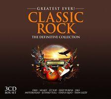 CLASSIC ROCK-GREATEST EVER-ZZ  Top, Deep Purple, Dio, Free, Motörhead, 3CD NEU