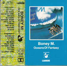 "K 7 AUDIO (TAPE)  BONEY M   ""OCEANS OF FANTASY"""
