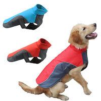 Winter Warm Pet Dog Coat Raincoat Fleece Vest Jacket Clothes Waterproof Costume