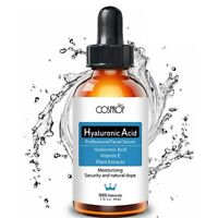 Face Pure Vitamin C 20% Hyaluronic Acid 50% Anti Wrinkle Acne Facial Serum