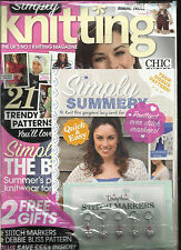 SIMPLY KNITTING,  JUNE, 2012  ( THE UK'S NO.1 KNITTING MAGAZINE ) CHIC CHOICE