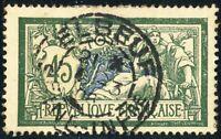 "FRANCE - 1908 - CàD "" ELBEUF / SEINE-INFre "" sur Yv.143 / Mi.122x 45c Merson"