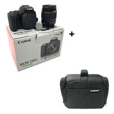 Canon 250D DSLR Camera + EF-S 18-55 mm f/3.5-5.6 III Lens + Bag UK NEXT DAY DEL