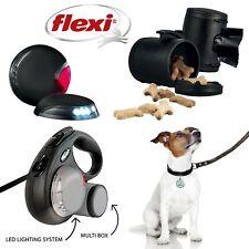 Flexi Vario Lead Accessories LED Light Flash Belt Treat Box Dog Coupler