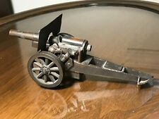 1918 WW1 Antique 75mm Cannon Table Top Cigarette Lighter ~ Excellent Working