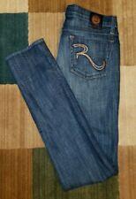 Rock & Republic Women's Designer Blue Jeans Size 29 x 33 BERLIN Dark Wash (F01)