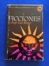 FICCIONES - FIRST AMERICAN EDITION BY JORGE LUIS BORGES
