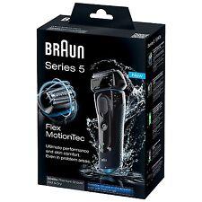 Braun Series 5 5040s Men's Wet & Dry FlexMotionTec Electric Foil Cordless Shaver