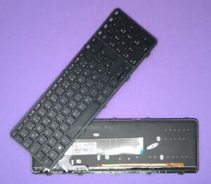DE Tastatur f. HP Probook 450 G1 450 G2 455 G1 455 G2 mit Beleuchtung NEU QWERTZ