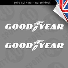 GOODYEAR - Curved Vinyl Decal / Sticker - 7205-0119