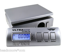 MyWeigh Ultraship 75 silber Paketwaage Briefwaage Digitalwaage Küchenwaage scale