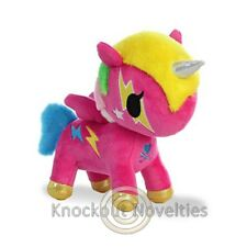 "7.5"" Tokidoki Unicorn - Comet - Pink Toy Cuddle Stuffed Animal Play"