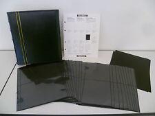 LEUCHTTURM Ringbinder OPTIMA, Classic-Design inkl. 20 XLHüllen, grün NEU 23