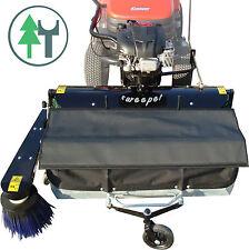 Kehrmaschine FKM110 1,10m Kehrbesen Hofkehrer Rasentraktor mit Kehrgutbehälter