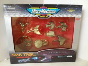STAR TREK Micro Machines Space scale miniatures.SPECIAL LIMITED EDITION.