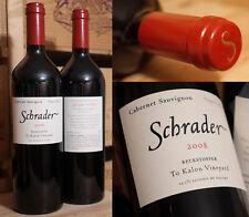 2008er Schrader - Cabernet Sauvignon - Beckstoffer - To Kalon Vineyard - TOP !!!