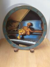 """Dear Diary """"Today, I Composed Myself"""" Danbury Mint Garfield Collector's Plate"""