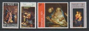 Niue - 1969-72, Christmas Issues - MNH - SG 140, 154, 161, 174