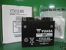 BATTERIA YUASA YTX12-BS PER PIAGGIO VESPA GTS 125 - 300