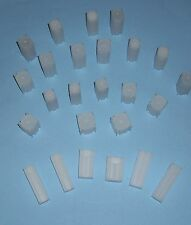 COIN SAFE- Made in America TWENTY 20 You Pick-Assorted Sizes SQUARE Tubes