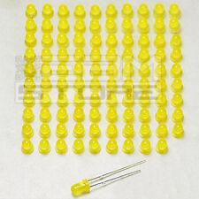 100 pz Led gialli 3 mm standard - ART. AD12
