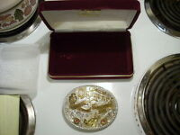 Cheyenne Frontier Days 1998 CFD Century II Belt Buckle by Gist # 80 sterling