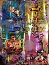 Dragon Ball Super Card Game Set 1 Galactic Battle ALL Leaders