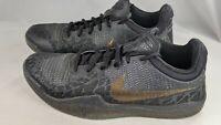 Nike Mamba Rage Gold Stars Kobe Bryant Mens Size 8 Shoes 908972 099