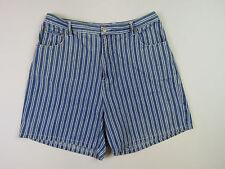 High Waist Striped Shorts for Women   eBay