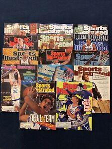 Sports illustrated Duke Blue Devils lot Of 14 1986-2010 Wojo Laettner Hurley