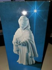 Avon Nativity Collectibles The Magi Balthasar White Porcelain Figurine Christmas
