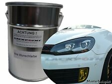 3 Liter Water Based Spray-Ready Car Paint VW Golf 6 041 Deep Black Tuning New