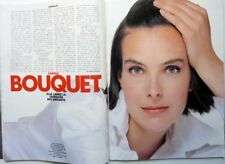 *CAROLE BOUQUET  => coupure de presse 2 pages 1989 !!! FRENCH CLIPPING