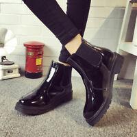 Summer Womens Waterproof Rainboots Rain Water Shoes Outdoor Ankle Boots Antislip