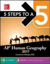 Gillespie, Carol Ann : 5 Steps to a 5: AP Human Geography 2017