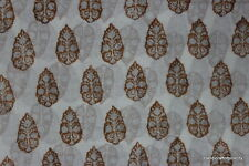hand Printed fabric indian cotton one yard fabric Pure Bagru Cotton Fabric SSTH0