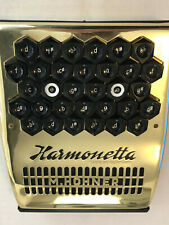 Vintage Hohner Harmonetta - With Case and Original Music-Must See!